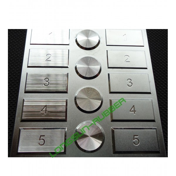 Plastic Texture Specification For Galvanic Plating